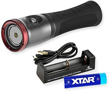 Водолазен фенер и фото-видео осветление SEA DRAGON MINI 1000F - SeaLife